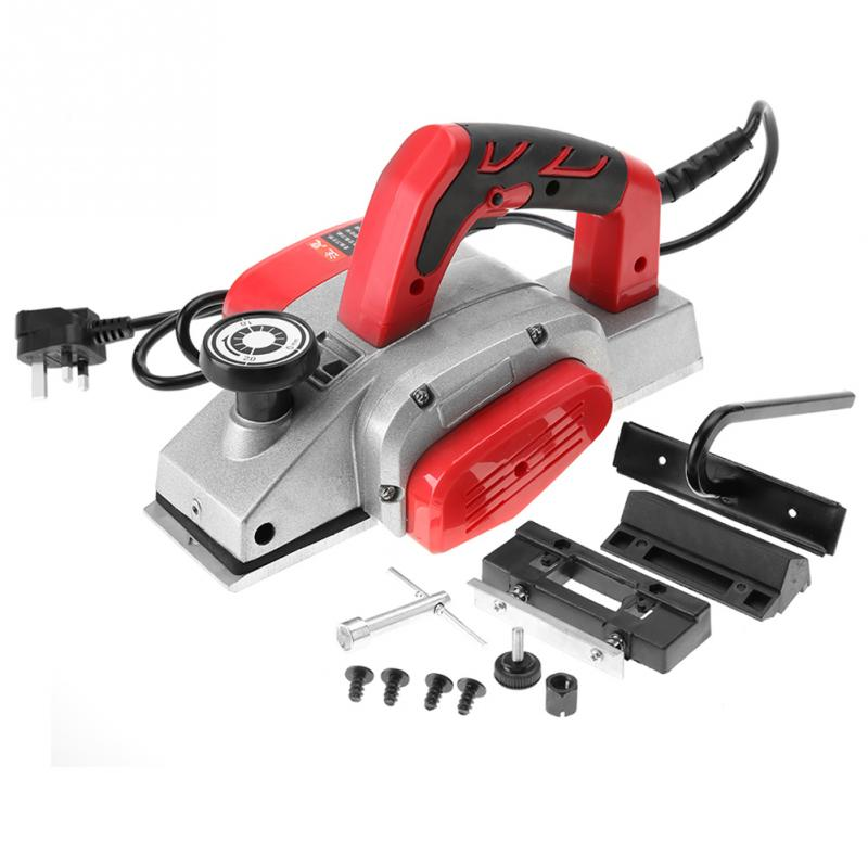 Us 72 82 27 Off Electric Wood Planer Multifunctional Handheld Copper Wire Wood Electric Planer Woodworking Tool Power Tools In Electric Planers From