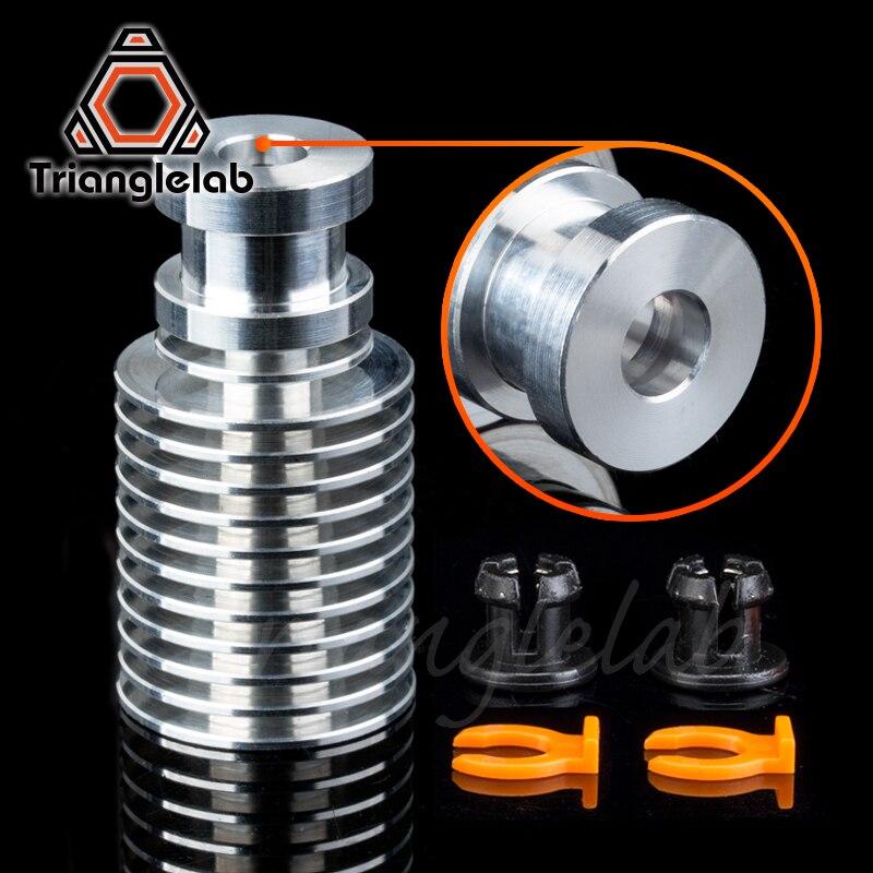 Новый радиатор для экструдера V6, радиатор для пульта дистанционного управления V6 Hotend 1,75 мм, Прямая поставка, Bowden для подачи 3D-принтера, титан...