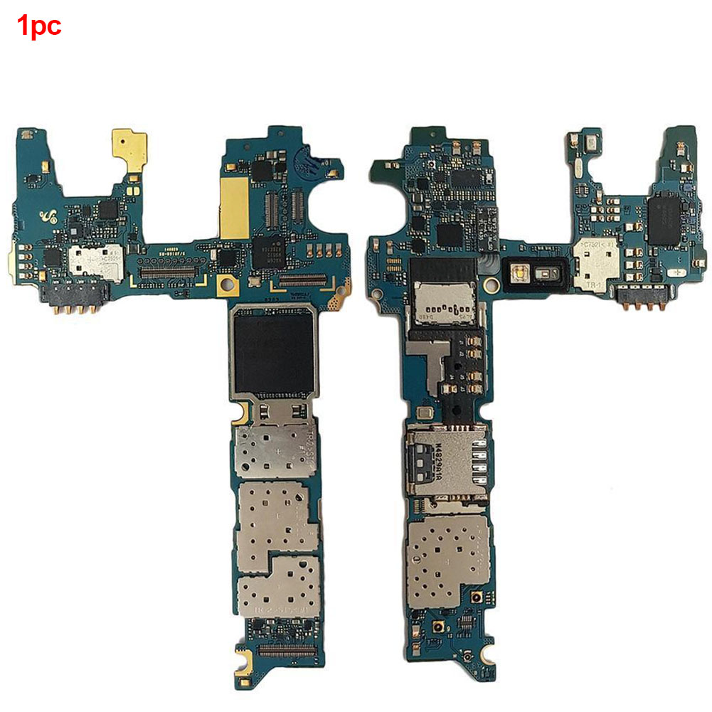 Original Electronic Accessories For Samsung For Galaxy Note 4 N910F 32GB Safety Main Motherboard Board Computer Components