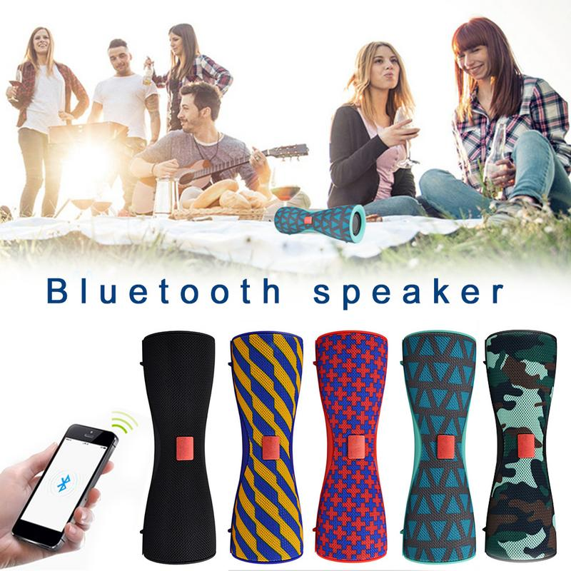 TWS Bluetooth Speakers Mini Bass Wireless Fabric Bluetooth Sound Support Card Reading 11.11