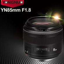 YONGNUO YN85mm F1.8 Camera Lens for Canon EF Mount EOS 85mm AF/MF Standard Medium Telephoto Lenses Fixed Focal Camera Lens недорого