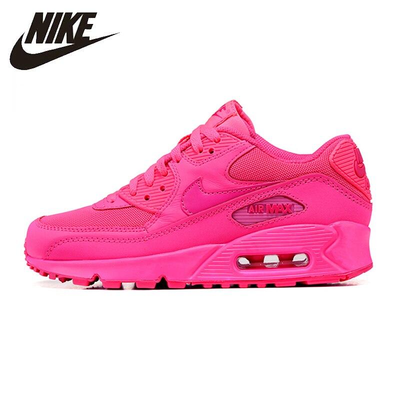 Nike nouveauté Air Max 90 Femmes de chaussures de course D'origine Respirant baskets de sport #345017-601