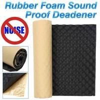1m x 50cm Auto Adhesive Cotton Insulation Thick Soundproof Car Rubber Foam Foam Absorbing Autos Car Noise Insulation Foam Board
