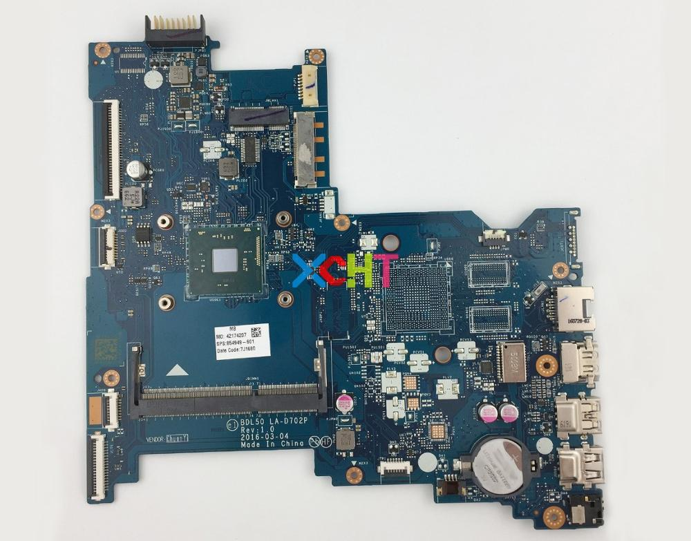 854949-601 854949-001 BDL50 LA-D702P UMA w N3160 CPU for HP 15-AY Series 15T-AY000 Notebook PC Motherboard Mainboard Tested854949-601 854949-001 BDL50 LA-D702P UMA w N3160 CPU for HP 15-AY Series 15T-AY000 Notebook PC Motherboard Mainboard Tested
