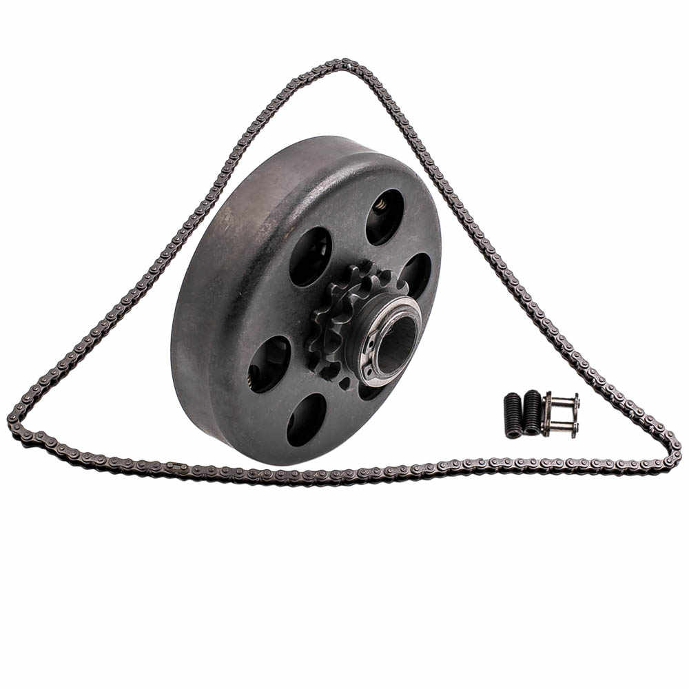 Centrifugal Clutch,3//4inch Bore Clutch 12 Tooth Chain Screw Kit