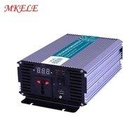 Умная серия солнечной энергии от сетки 600 Вт Чистая синусоида Инвертор 600 Вт DC 12 В 24 В 48 В к AC 110 В 220 VSurge мощность 1200 Вт