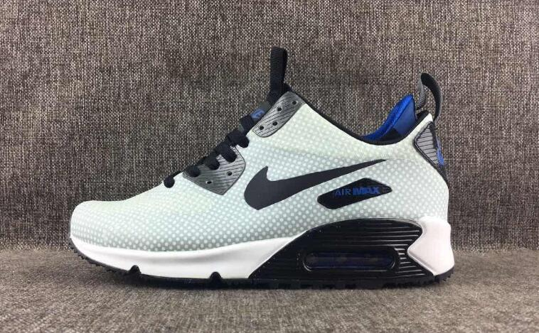 NIKE AIR MAX 90 MID WNTR Breathable Men's Running shoes Snea