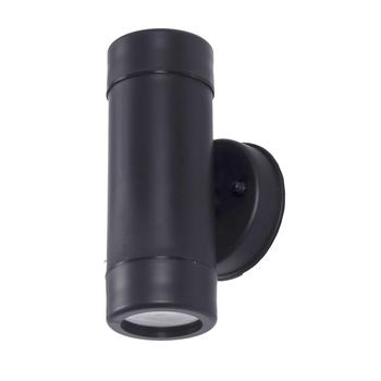Zewnętrzne oświetlenie ścienne led IP65 wodoodporne oświetlenie ścienne led dwustronnie proste kinkiety oświetlenie dekoracyjne 10W oświetlenie ganku kinkiet tanie i dobre opinie ZMJUJA Nikiel szczotkowany W044 IP65 waterproof simple GU10 wall lamp 85-265 v 1 Years Nowoczesne Żarówki led Przemysłowe