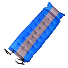 About 186*65*5 cm Thicken Inflatable cushion Moisture proof pad Tent camping camping essential цена