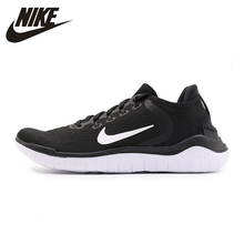 купить Nike FREE RN Original New Arrival Men's Running Shoes Lightweight Comfortable Non-slip Sneakers #942836 дешево