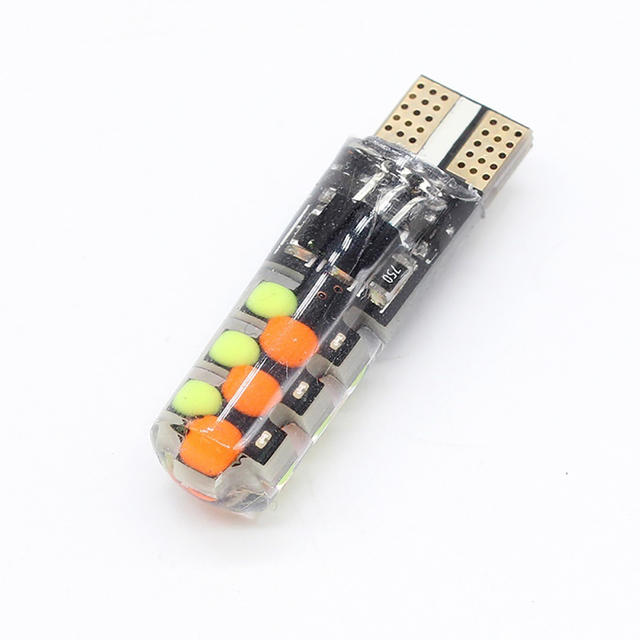 Universal Car LED RGB COB Lights Colorful Multimode Car Light Bulbs With Remote Controller