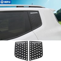 MOPAI Car Rear Window Glass Triangle Plate Decoration Cover Trim for Jeep Renegade 2015 2017 Car Accessories
