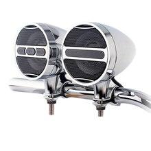 Hot TTKK 12V Motorcycle Mp3 Bluetooth Audio All Metal Car Handlebar Electric Waterproof Horn Plug-In Radio Box