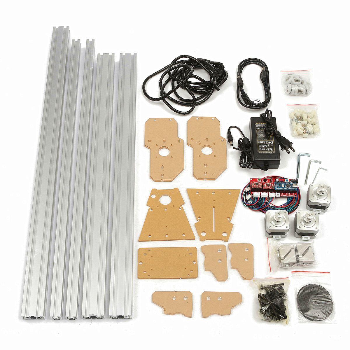 1Set 65x50cm 100 mw 5500 mw DIY Desktop Mini Lasersnijden/Graveren Graveur Machine DC 12V Hout Cutter/Printer/Power Verstelbare - 2