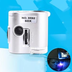 New 60X Mini Pocket Microscope
