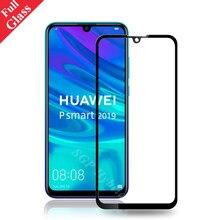 Caso de vidro temperado para huawei p smart 2019 protetor de tela em p inteligente 2019 POT-LX3 POT-LX1 POT-AL00 proteger capa de filme