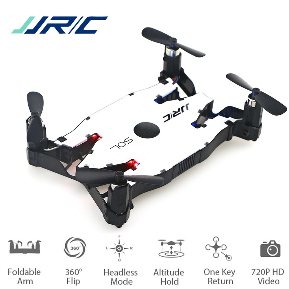 JJR/C JJRC H49 SOL Ultrathin Wifi FPV Selfie Drone 720P Camera Auto Foldable Arm Altitude Hold RC Quadcopter VS H37 H47 E57 Dron