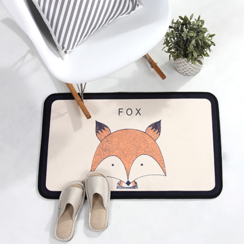 Soft Cotton Baby Kid Floor Mat Bath Rug Kitchen Rug Door Way Feet Mat Anti slip Strip Doormat Kitchen Carpet Bath Mat 50X150cm