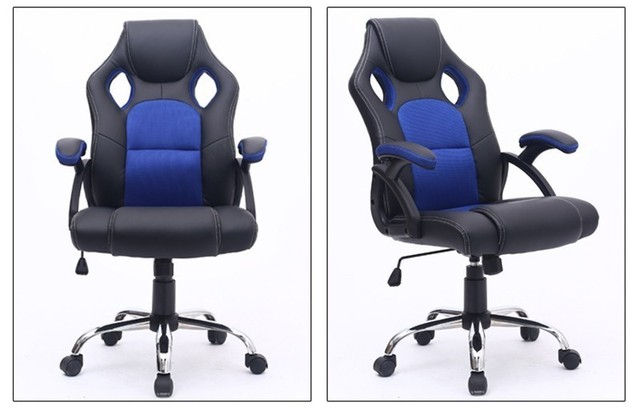 Home Gaming Computer Chairs Ergonomic Kneeling Chair Office Rotatable With Pillow