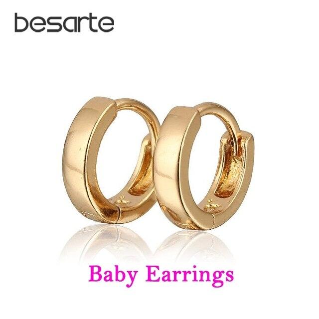 097fb2f187b1 10 pares niños pendientes de aro para niños Brinco Ouro Boucle d oreille  Bebe