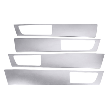 4Pcs For Land Rover Discovery 4 Lr4 Interior Door Handle Panel Trim Abs Sticker 2010-2016 Car Accessories