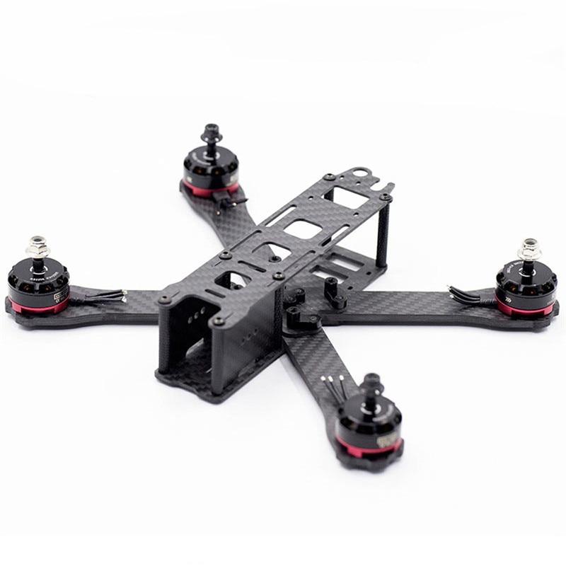 B6FPV QAVR 2019 220mm Wheelbase 5 Inch 4mm Arm Carbon Fiber FPV Racing Frame Kit For RC Drone FPV Quadcopter Multicopter Part B6FPV QAVR 2019 220mm Wheelbase 5 Inch 4mm Arm Carbon Fiber FPV Racing Frame Kit For RC Drone FPV Quadcopter Multicopter Part
