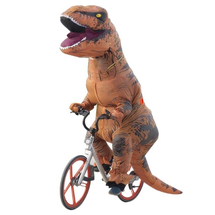 NOVEDAD Y mordaza de juguete para adultos inflable dinosaurio de fantasía y bromas prácticas vestido de Cosplay para Navidad, Halloween, fiestas divertidas