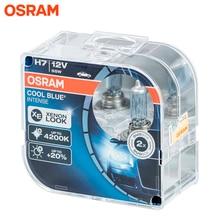 Галогеновая лампа головного света OSRAM COOL BLUE INTENSE H7 цвет голубовато-белый 12В 55Вт 4200K (2 шт)