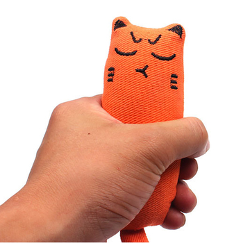 Cat Grinding Catnip Toys Funny Interactive Plush Toy Pet Kitten Chewing Claws Thumb Bite Mint For Cats Teeth 4