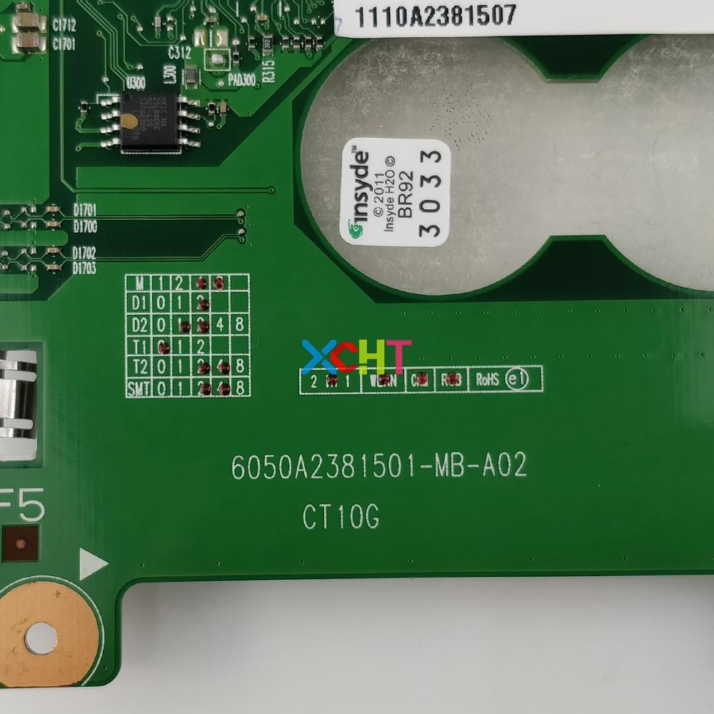 Image 5 - V000238060 6050A2381501 MB A02 w 216 0774009 GPU HM55 for Toshiba C600 C640 Series Laptop NoteBook PC Motherboard Mainboard-in Laptop Motherboard from Computer & Office