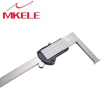 IGDVC300(K) 15-300mm  Inner tank Digital  Groove Vernier Caliper With Knife Edge IP54 Waterproof Stainless Steel Free Shipping 15 300mm inside groove digital vernier caliper with knife edge with flat point electronic high precision good quality