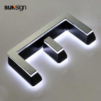 3D led letters acrylic led lighting road sign for advertising - DISCOUNT ITEM  0% OFF All Category