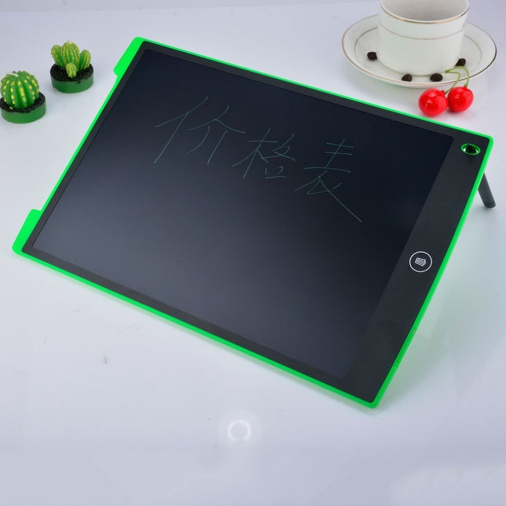 Ultra Thin 12 Inch LCD Digital Writing Tablet Drawing Board Sketchpad Electronic Graphic Board with Mouse Pad Ruler writing
