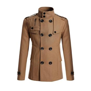 Warm Trench Double Breasted Peacoat