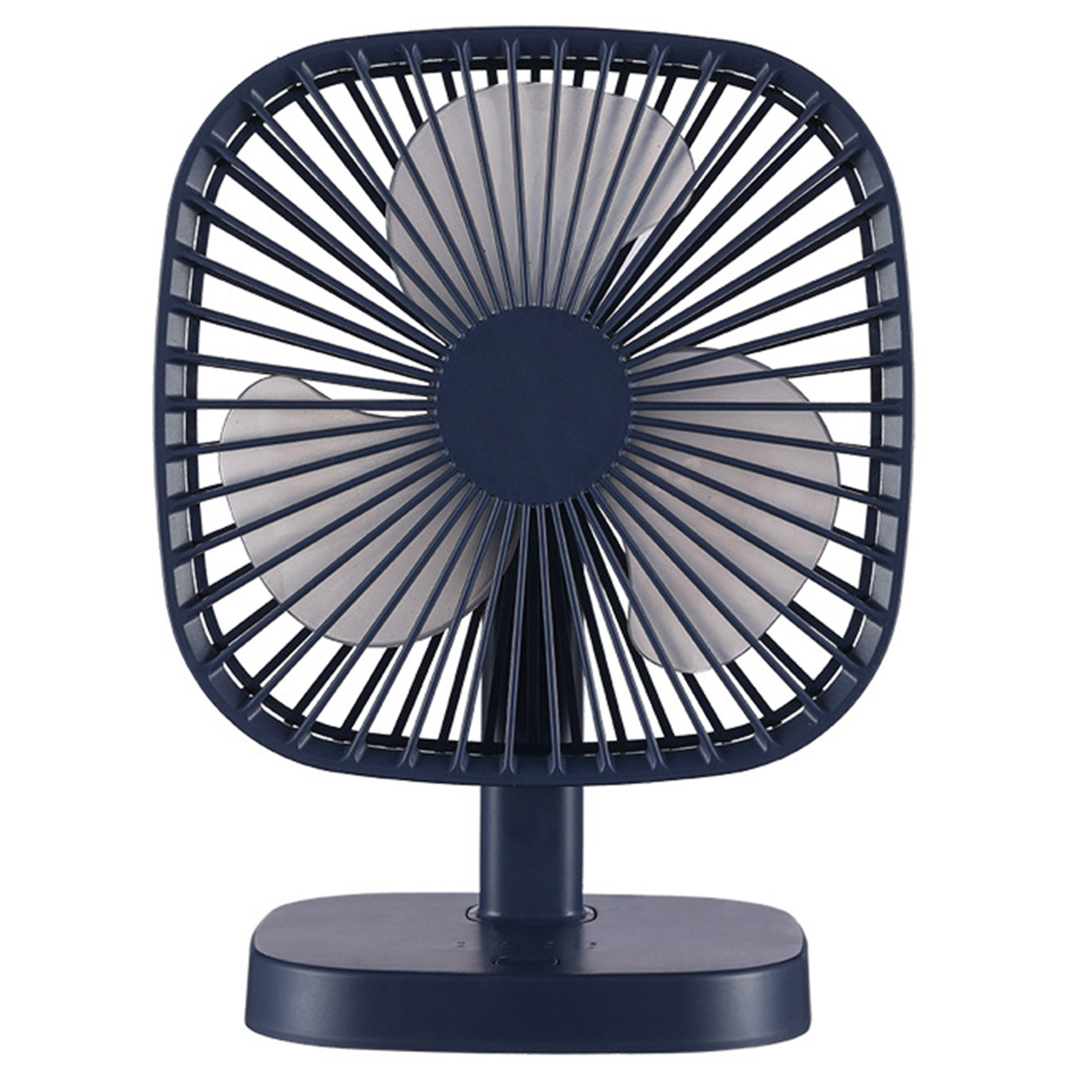 Portable Mini Usb Fan Rechargeable Large Wind Ultra Quiet  Suitable For Office  Camping  Outdoor|Fans| |  - title=
