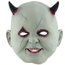 Scary Vampire Mask For Adult Halloween Costume Latex Horror Zombie Cosplay