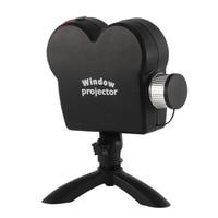 EU plug Window Display Laser Lamp Christmas Spotlights Projector Wonderland 12 Movies Projector Light