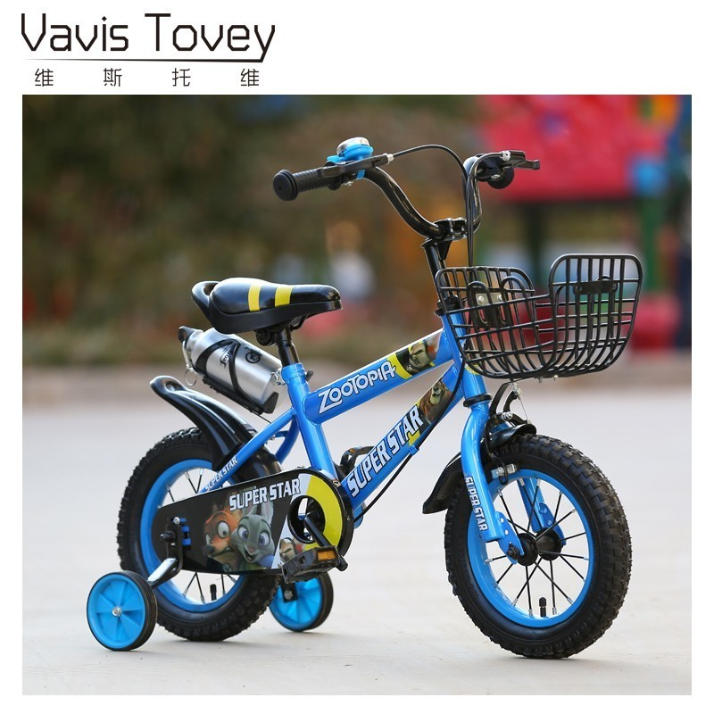 12 Children S Bicycle Tricycle 3 Wheel Balance Safety Car For 2 6