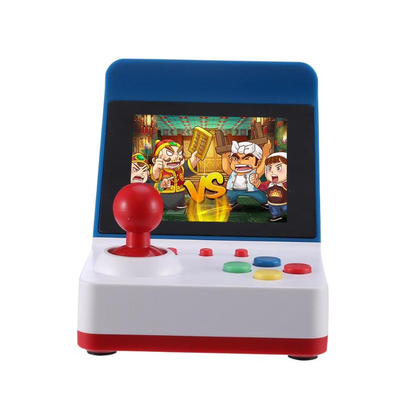 Handheld Game Player 3.0 Inch TFT Color Screen Retro Mini Video Game Console 8 Bit Built-in 360 Classic Games for Arcade White