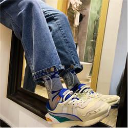 Новинка зимы бутик Мужские Простые повседневные джинсы сплошной цвет темпера Мужские t свободные большой размер теплые брюки Мода