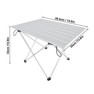 Image 4 - אלומיניום סגסוגת שולחן שולחן חיצוני קמפינג חיצוני מתקפל שולחן