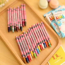 Hot 8 colors 12 colors Children's drawing Crayons School student painting stationery Supplies Crayons