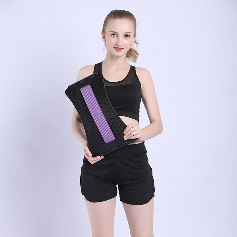 1pcs Back Stretching Device Correct Cervical Vertebra Spine Pain Relief Chiropractic Lumbar Support For Outdoor Office Family