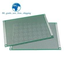 8x12 см 80x120 мм двухсторонний Прототип PCB универсальная печатная плата для Arduino