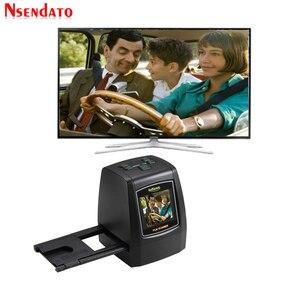 """Image 2 - 14MP/22MP High Resolution Photo Foto Film Scanner Convert 35 mm 8 mm Color 2.4"""" LCD Slide Viewer Film Digital Negative Scanner"""