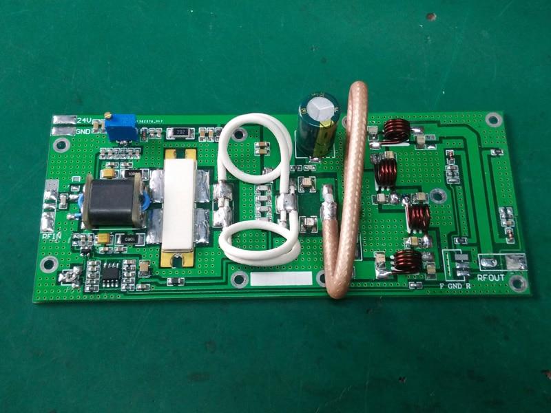 Assembled 150W 85Mhz 108Mhz FM transmitter RF Power Amplifier Board for Ham Radio Power 24v