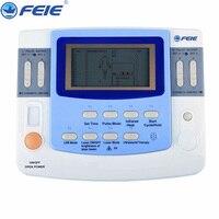 9 каналов десятки EMS медицинские устройства с ультразвуковой лазер нагрева банки EA VF29 лечения для облегчения боли Бесплатная доставка