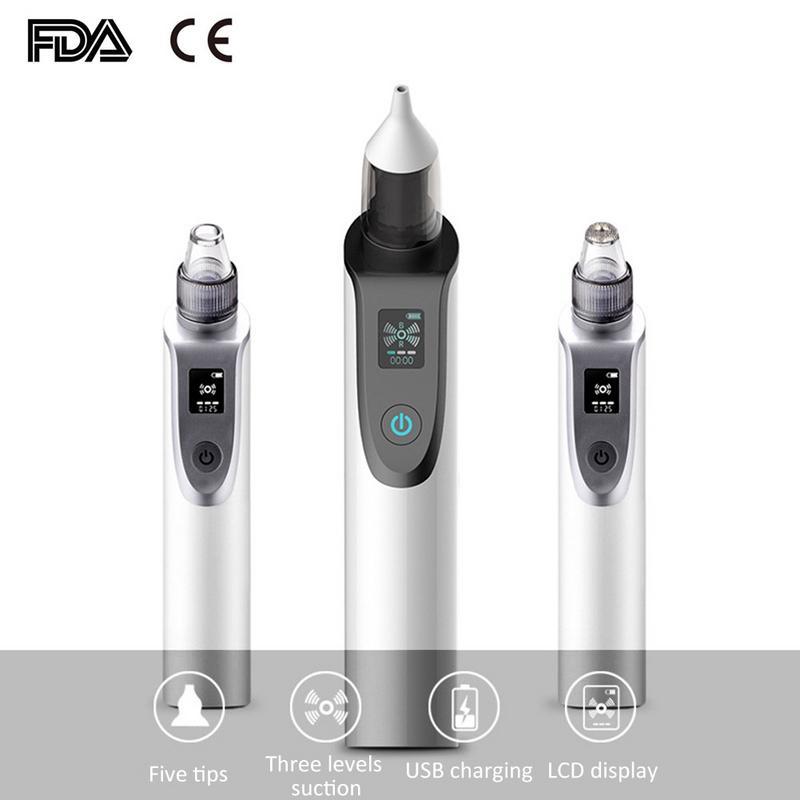 רב תפקודי USB תינוק Aspirator האף חשמלי סט למבוגרים חטט Remover יופי מכשיר נטענת נייד תינוק טיפול