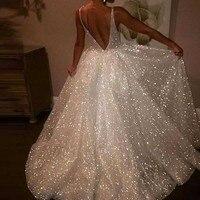 sexy women white glitter dress sequin backless sukienka vestidos jurken vestido longo robe femme long dress elbise ropa mujer