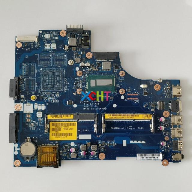 CN 0PJNNJ 0 PJNNJ PJNNJ LA 9982P w i3 4010U CPU per Dell Inspiron 15R 5537 3537 NoteBook PC Scheda Madre Del Computer Portatile Mainboard